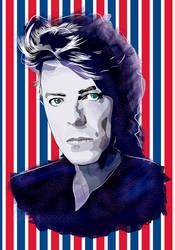 David Bowie - Vector art