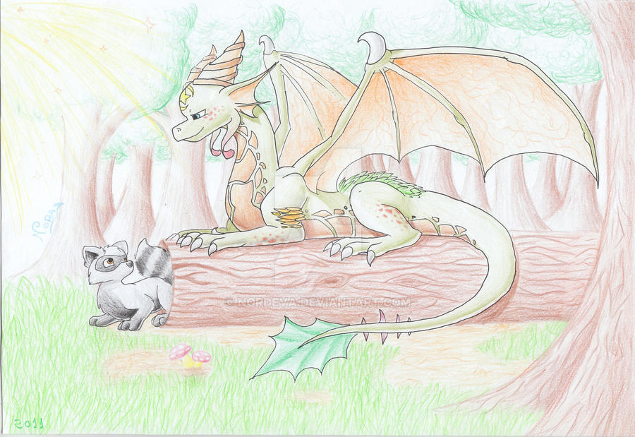 Nature's magic by Nordeva