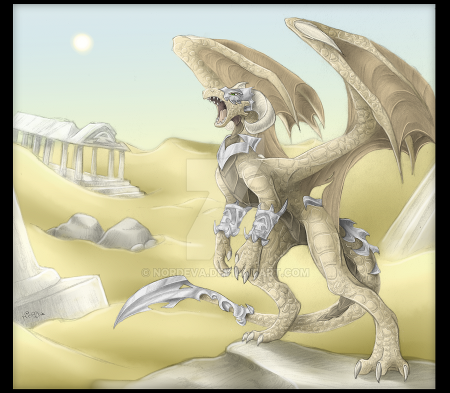 The Desert Guardian by Nordeva