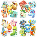 Pokemon Mystery Dungeon stickers