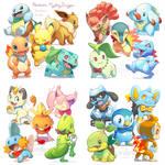 Pokemon Mystery Dungeon stickers
