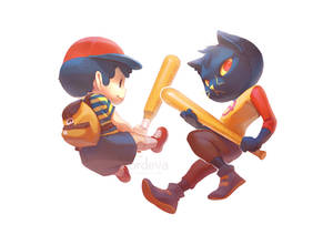 Ness and Mae