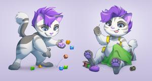 Linny mascot design