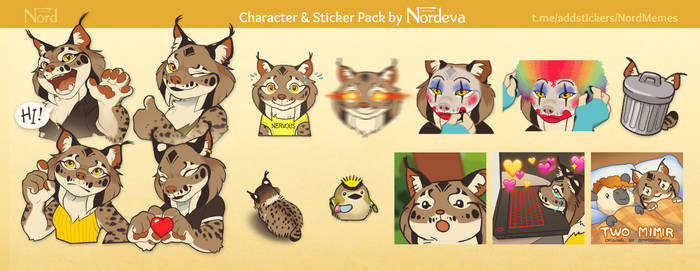 Nord Sticker pack