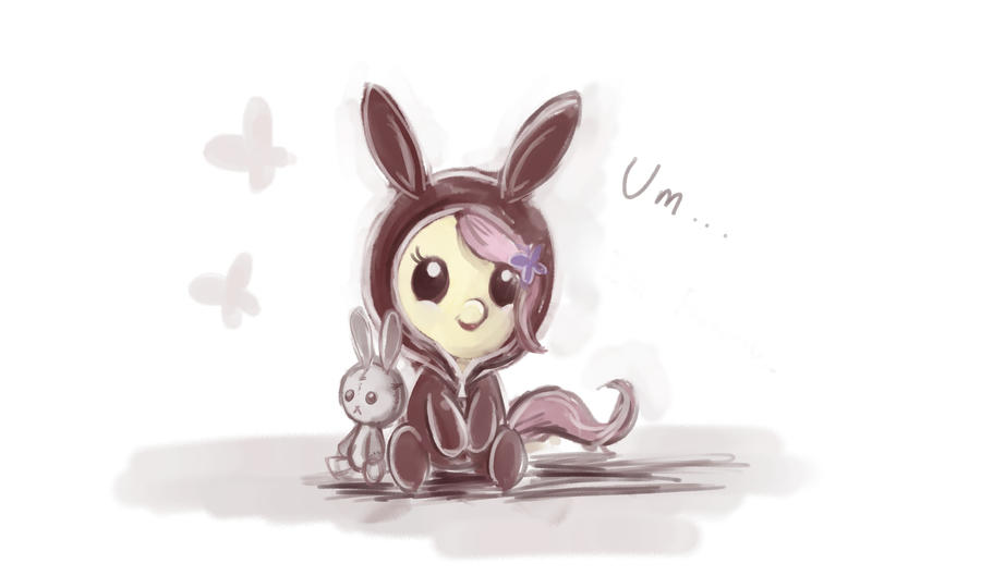 Baby Fluttershy by FoxTailPegasus