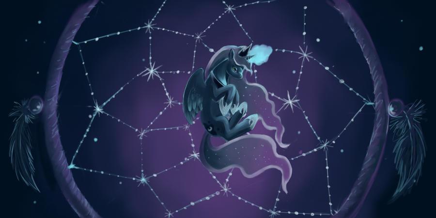 Luna's Dreamcatcher by FoxTailPegasus