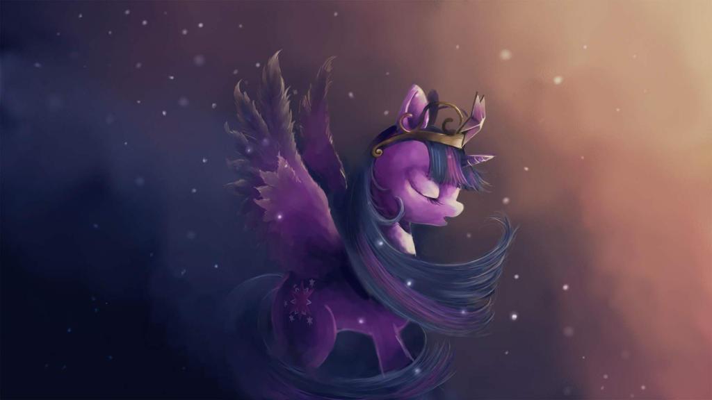 My destiny(Princess Twilight Sparkle) by FoxTailPegasus