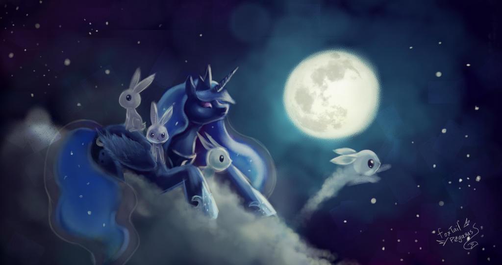 Luna's Moon Festival by FoxTailPegasus