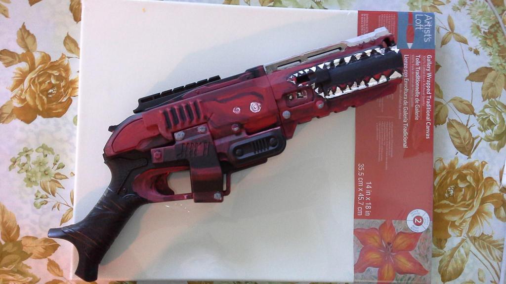 Skater Gun (Nerf Gun Mod) by Morbid-T3mptation ...