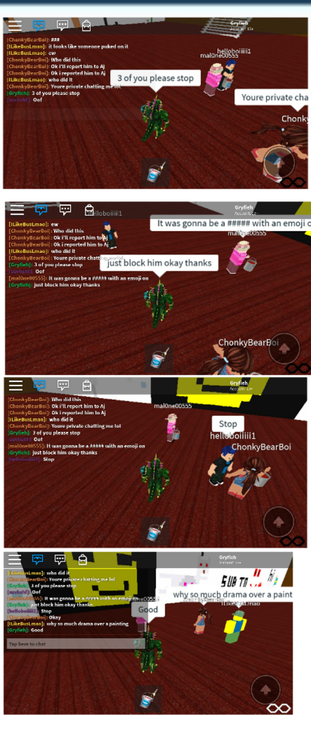 Cyberbully In Roblox Part 2 By Memy9909haters On Deviantart