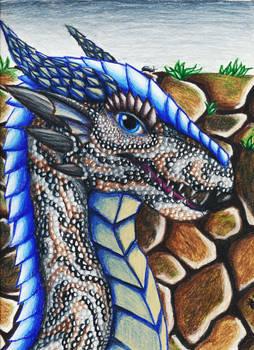 Iedryth - Tigers' Eye and Glacier Scales