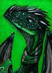 Slytherin Dragon by RoleplayDragon2000
