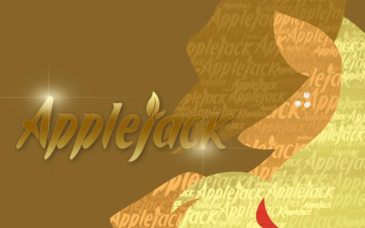 TextAppleJack - Wallpaper by PinkieStealthiePie