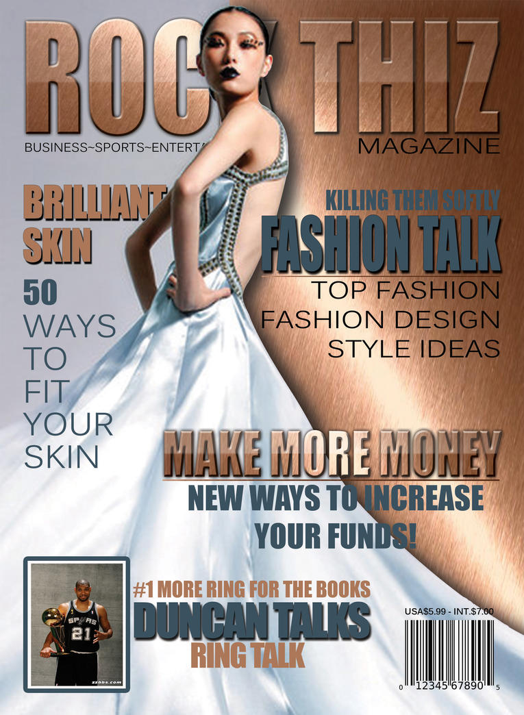rock thiz magazine cover concept by ComplexMediaSolution