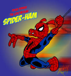 Peter Porker the Spectacular Spider-Ham! by CRSMM