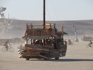 The Dusty Junk, on playa