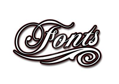Fonts Script Logo by robbolt on DeviantArt