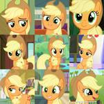 Cute Applejack Collage~