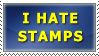 I Hate Stamps by WiseWanderer