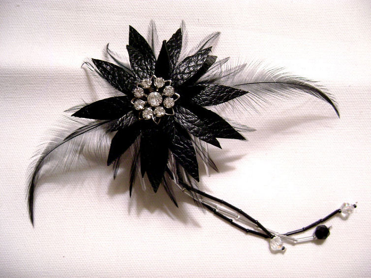 dark lotus gothic hairpiece by splitlipgypsy on deviantart, Beautiful flower