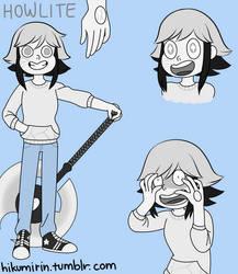 (Steven Universe OC) Howlite (UPDATED) by HikumiRin