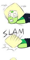 (Steven Universe) Peridots faceplant