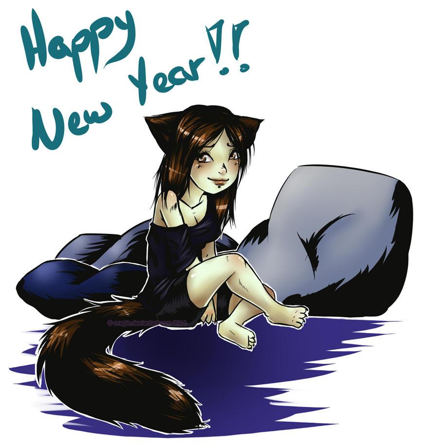 Happy New Year 2015 by oragie