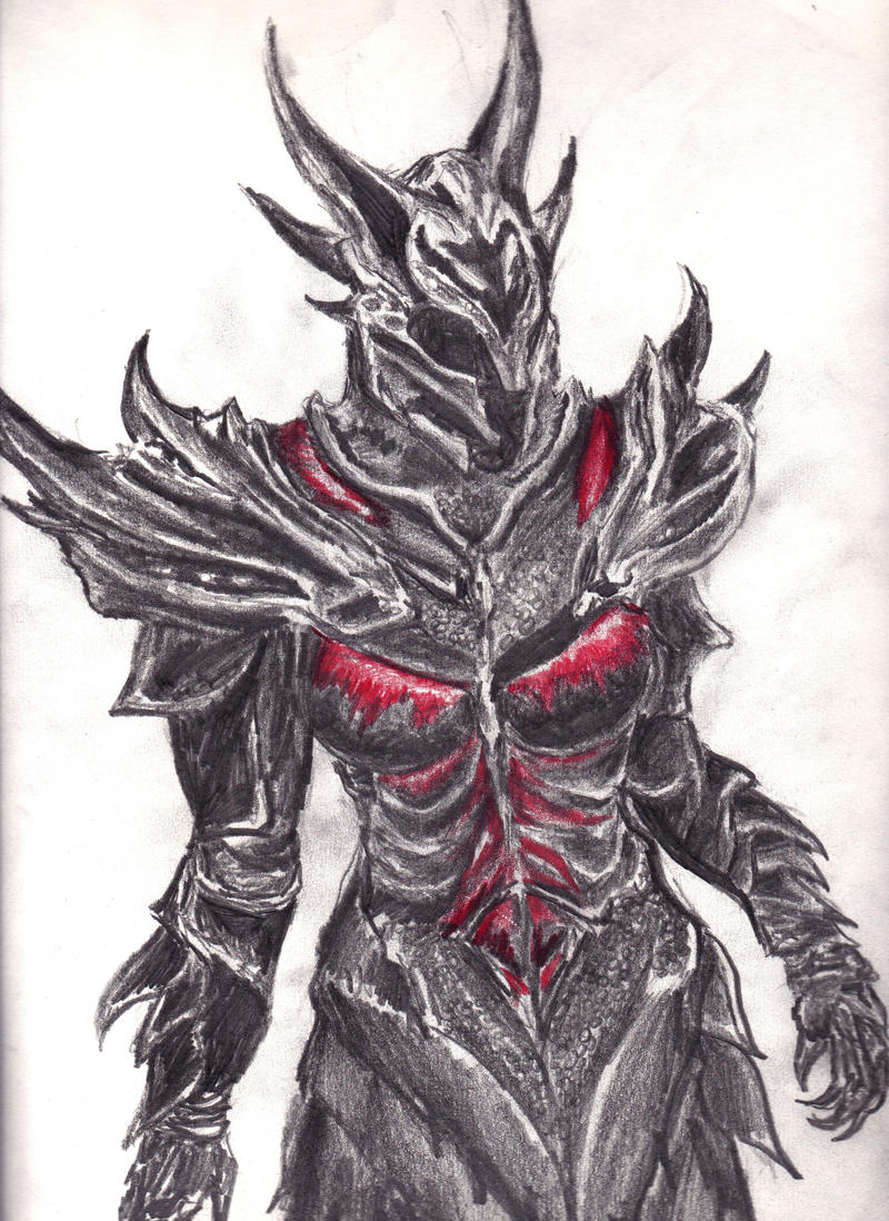 above is skyrim drawing - photo #20