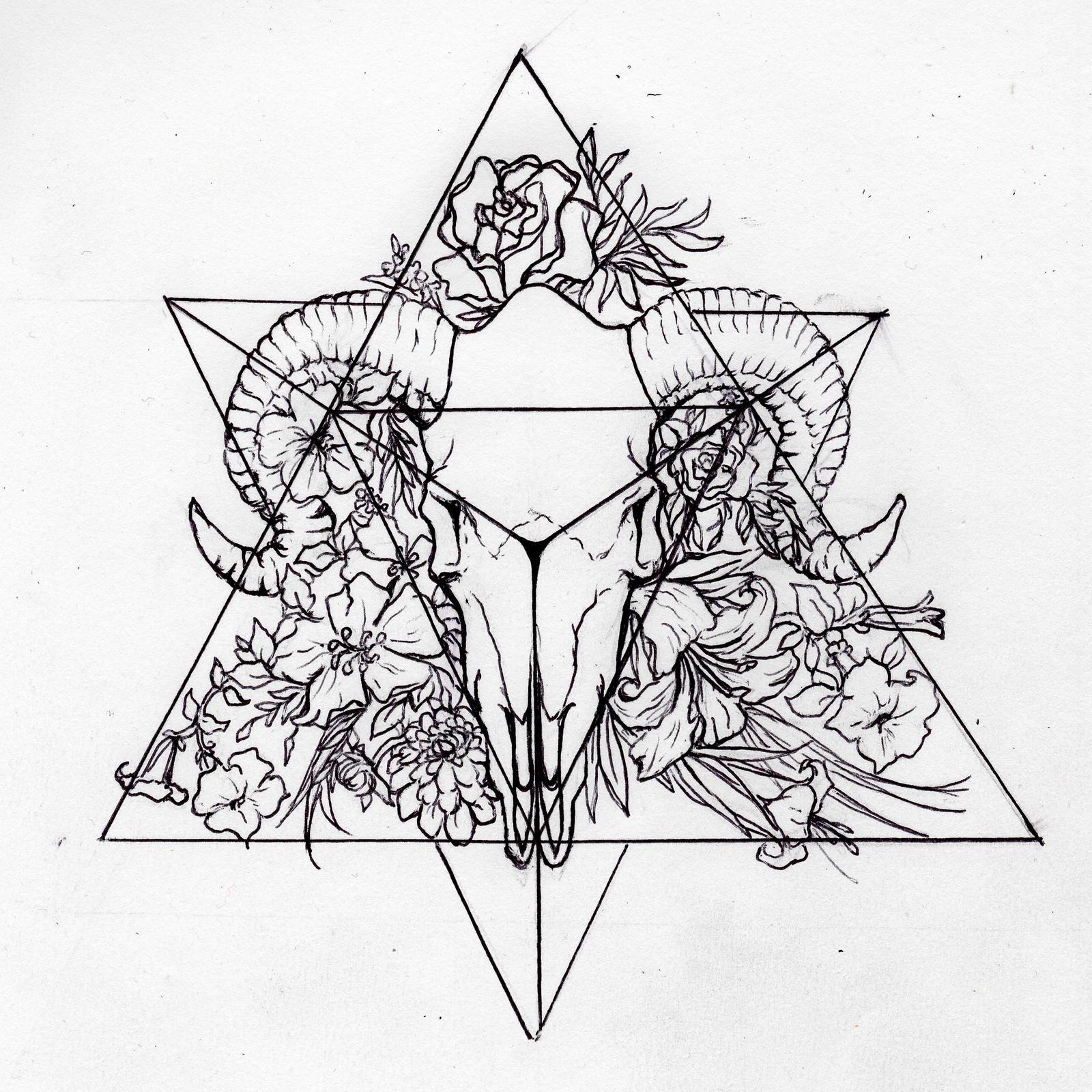 Tetrahedron Personal Tattoo Design By Morgan96k On Deviantart