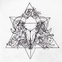Tetrahedron (Personal Tattoo Design)
