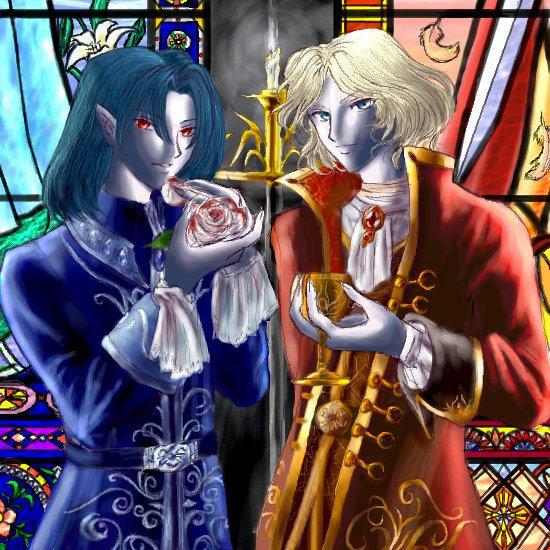Vampires by Deriesne