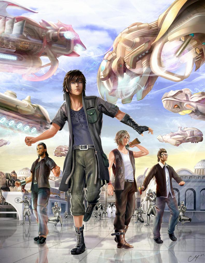 Final Fantasy Versus 13 by Vzamm