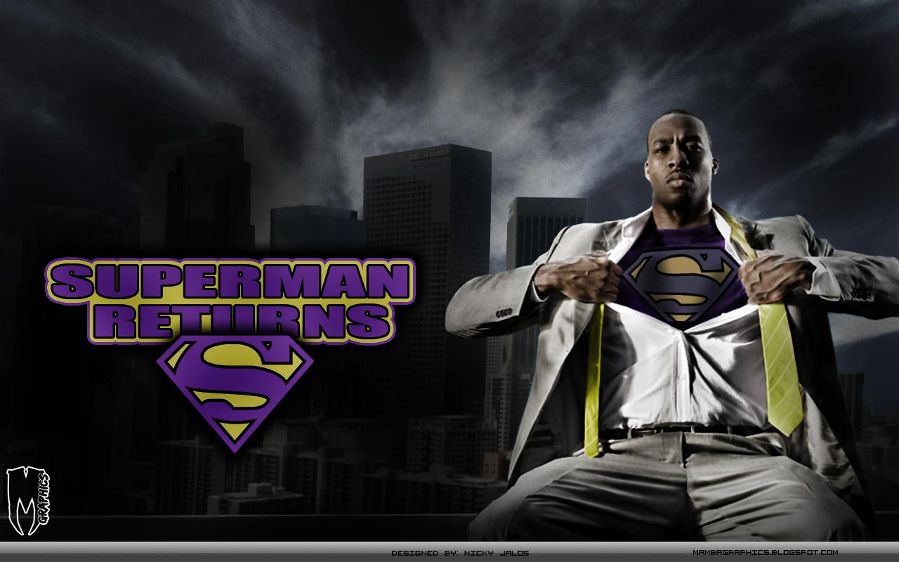 dwight howard superman returns wallpaper by nickmamba on