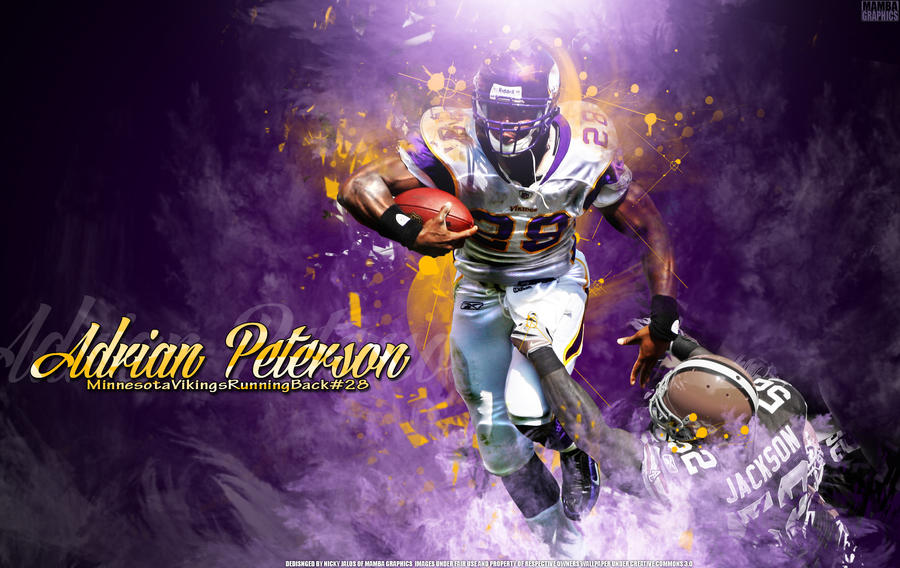Adrian Peterson Wallpaper By NickMamba