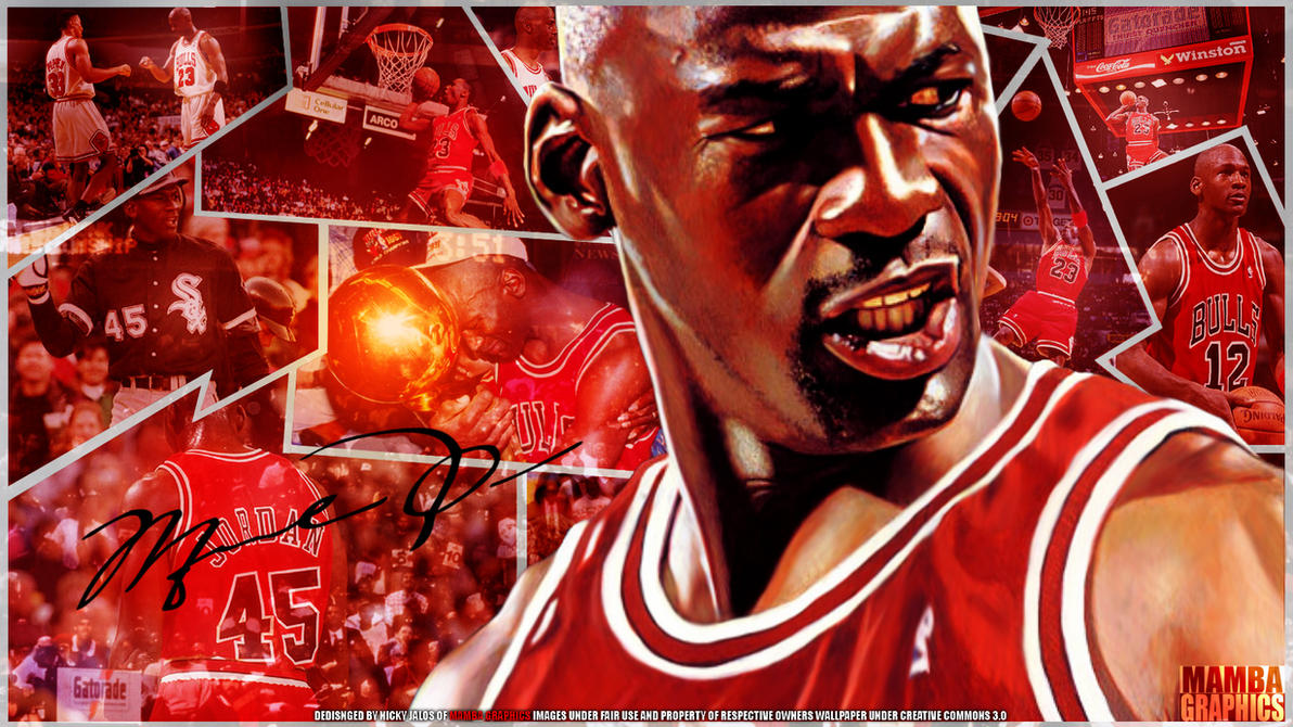 Michael Jordan Wallpaper By NickMamba