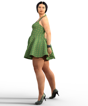 9-2-20 Lady In Green-fx1