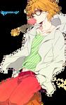 Anime Boy Render 03