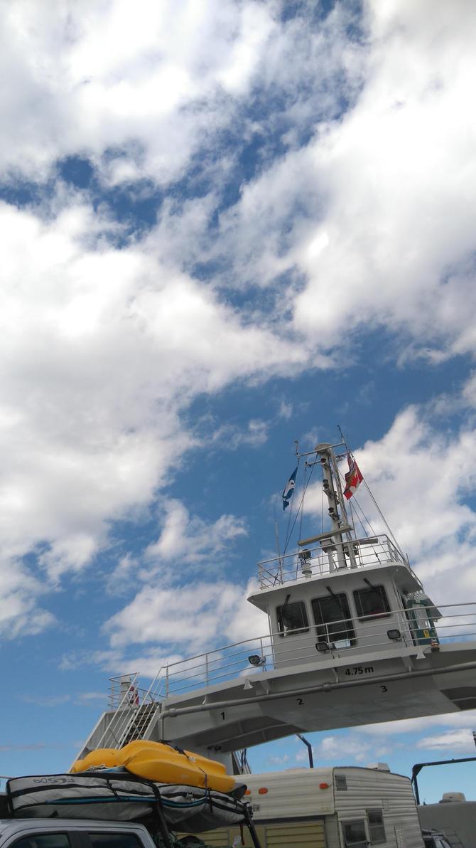 Ferry by TheGoldenKinoku