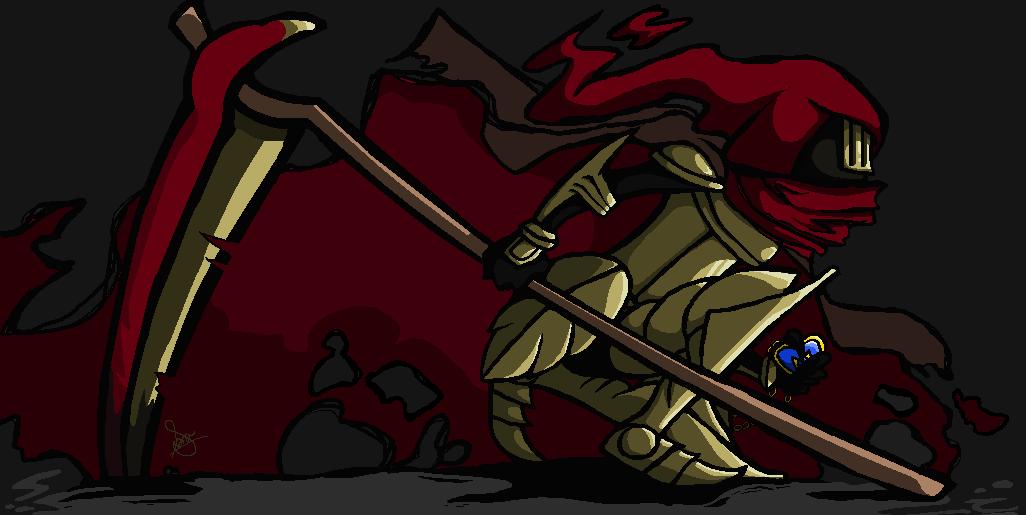 Specter Knight by TheGoldenKinoku