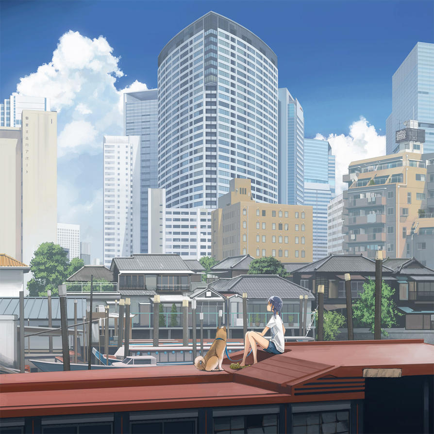 Anime Apartment: Shinagawa Inlet By Kskb On DeviantArt
