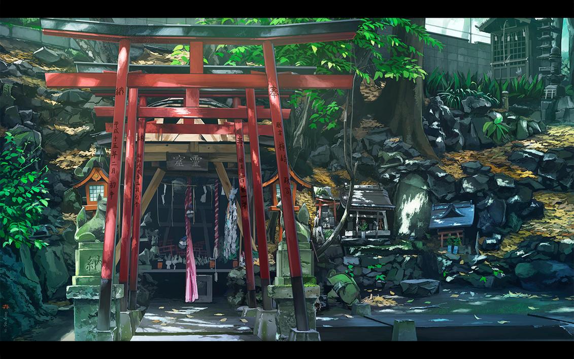 Takuzosu Inari Shrine by kskb