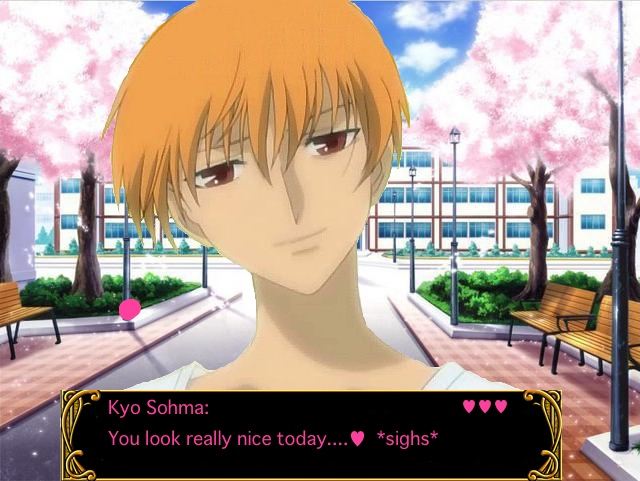 Anime dating sim school