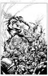 Aquaman Cover #3 Inks - Ivan Reis - High Res
