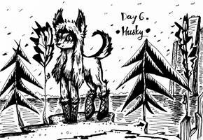Husky-shapka