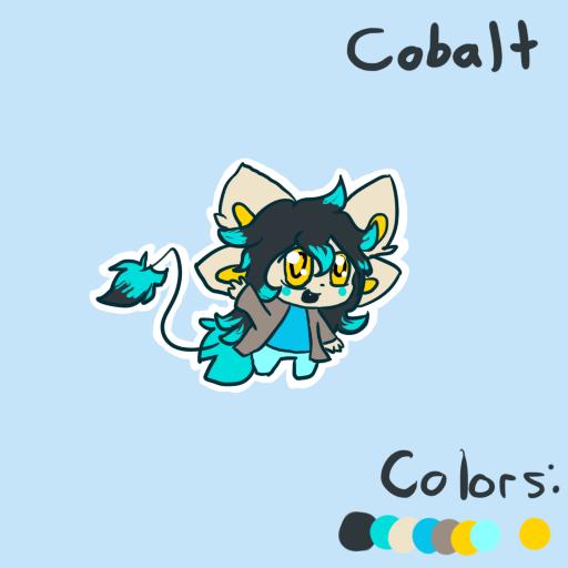 Cobalt Ref by CrazyWeirdo-Moonfall