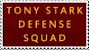 Tony Stark Defense Squad stamp by Owlvis