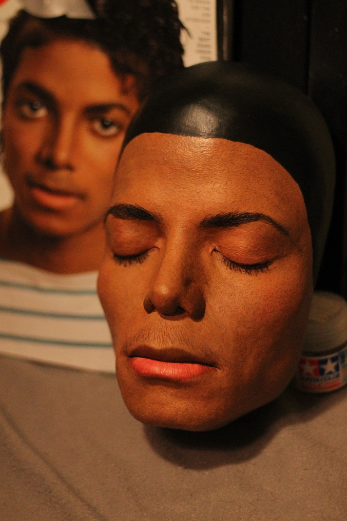 Michael Jackson Lifesize lifecast by godaiking