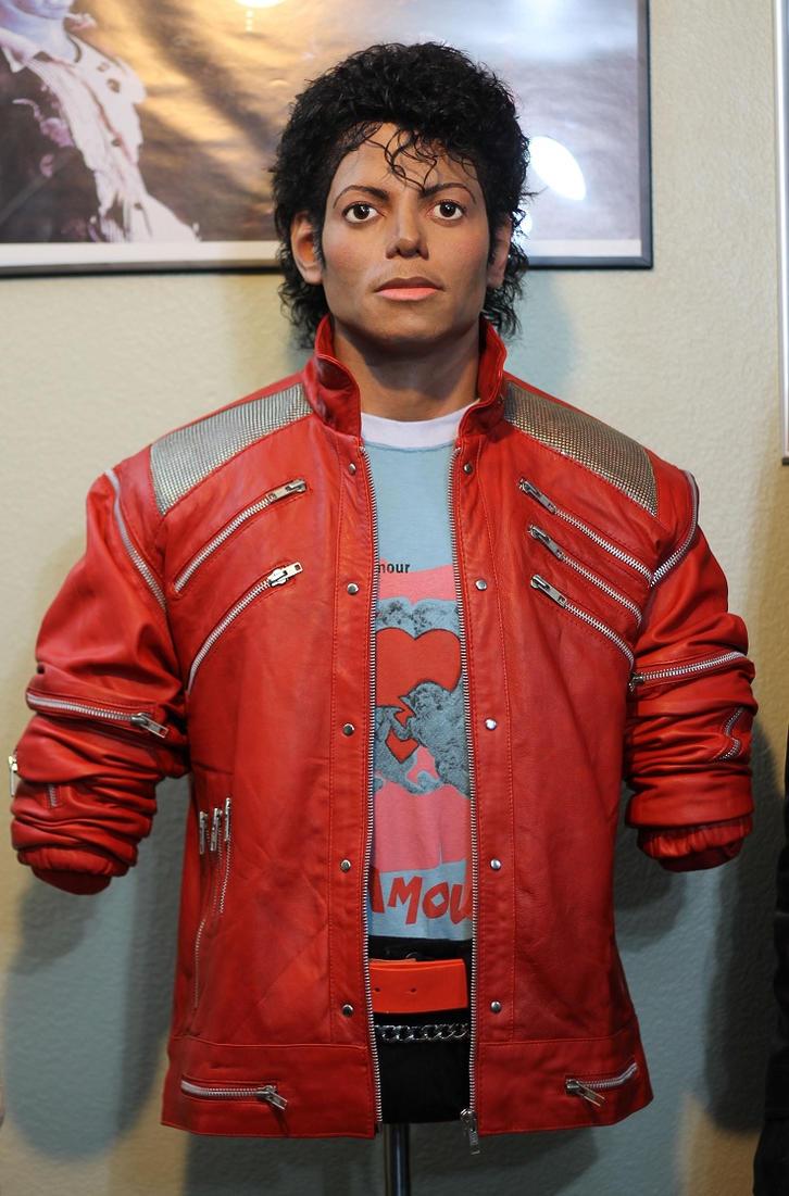 Michael Jackson Beat It Lifesize torso Full View by godaiking