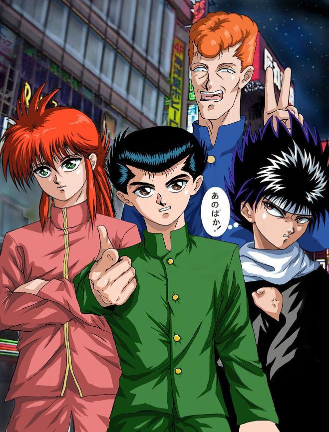 Yusuke MKII Yu Yu Hakusho by godaiking on DeviantArt