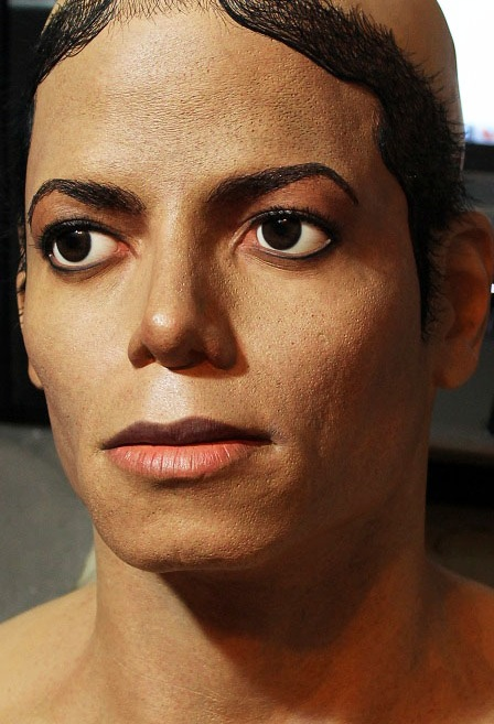 Michael Jackson Bad lifesize bust 1/1 IN progress by godaiking